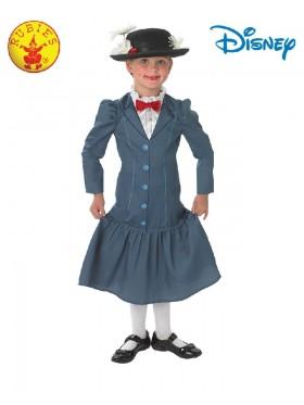 Costume Girls Disney English Nanny Maid Victorian Book Week Mary Poppins