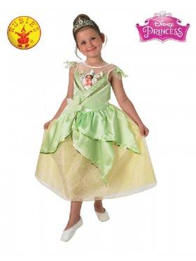 Girls Tiana Shimmer Deluxe Costume