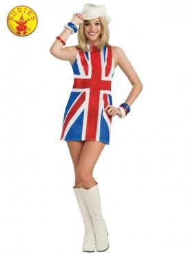 Ladies British Invasion Costume