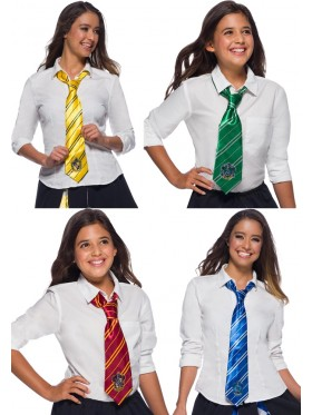 Hufflepuff Ravenclaw Gryffindor Slytherin Harry Potter Tie