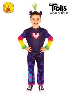 KING TROLLEX 2 DELUXE COSTUME Kids
