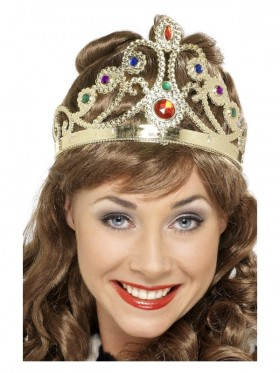 Gold Queens Crown Costume Accessory