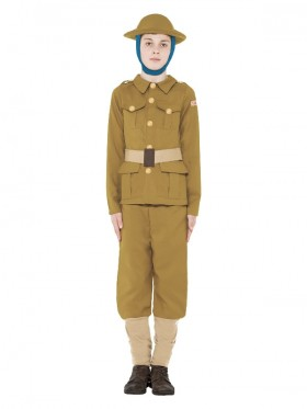 Kids Horrible Histories WWI Soldier Costume