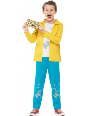 Roald Dahl Charlie Bucket Boys World Book Week Fancy Dress Kids Costume