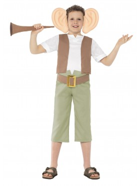 Roald Dahl BFG Friendly Giant World Book Week Costume Character Fancy Dress