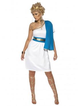 Adult Womens Roman Beauty Costume Smiffys Toga Greek Roman Party Costume Fancy Dress