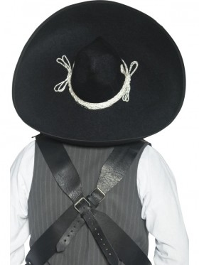 Mexican Wester Authentic Bandit Hat Mariachi Sombrero Fancy Dress Bandit Spanish Western Cowboy Costume Accessories