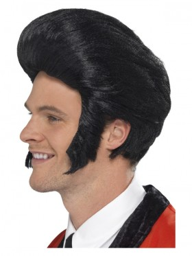 50's Quiff King Wig  Accessory