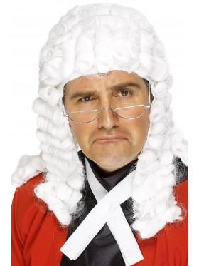 Adult Judge Lawyer Wig