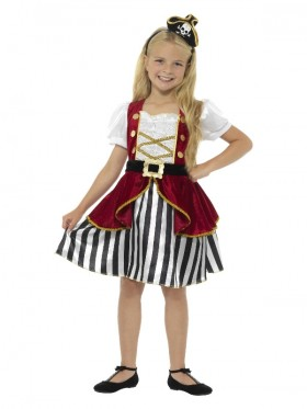 Deluxe Pirate Girl Wench Costume