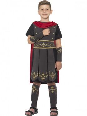 Kids Gladiator Roman Soldier Hero Greek Warrior Men Hercules Medieval Costume