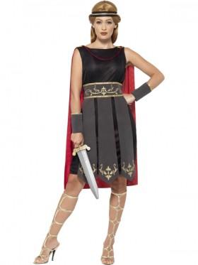 Ladies Greek Xena Roman Warrior Princess Gladiator Medieval Spartan Women Fancy Dress Up Hero Costume
