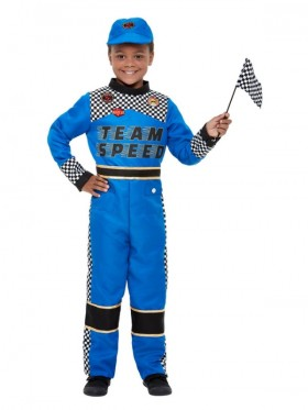 Boys Racing Car Driver Costume