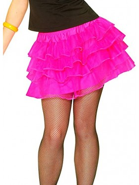 Hot Pink 80s Pettiskirt