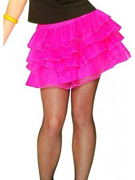 Hot Pink 80s Pettiskirt