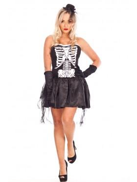 Ladies Gothic Halloween Vampire Twilight Devil Costume Fancy Dress Up Outfits