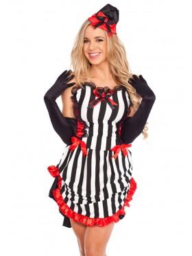 Ladies Halloween Devil Queen Fancy Dress Costume
