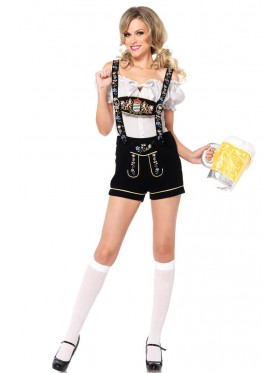 German Bavarian Heidi Costume