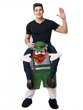 Oktoberfest Shoulder Carry Ride On Me Costume