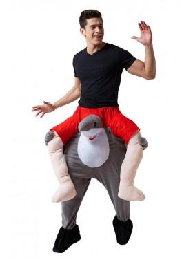 Shark Shoulder Carry On Piggy Back Ride On Me Costume