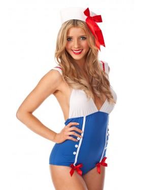 Sailor Pin Up Dress Up Costume