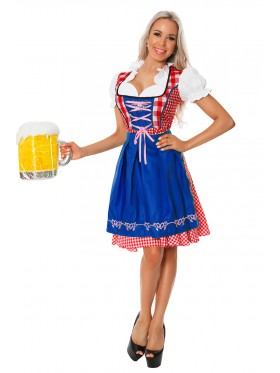 Ladies oktoberfest gretchen german costume