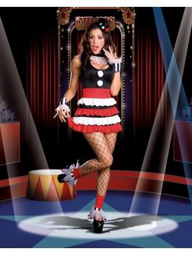 Circus Clown Halloween Fancy Dress