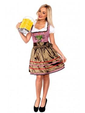 Ladies Oktoberfest Beer Maid Costume