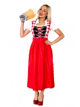 Swiss Miss Beer Girl Plus Costume
