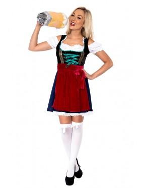 Ladies Oktoberfest Gretchen Costume