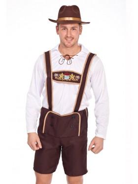 Mens Lederhosen Oktoberfest Costume