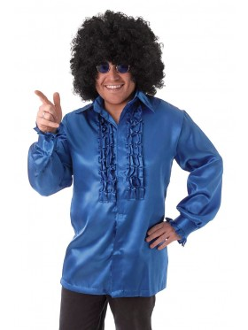 Mens 60's 70's Groovy Hippie Shirt Costume