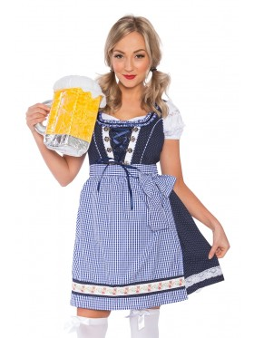 Ladies Wench Beer Maid Costume