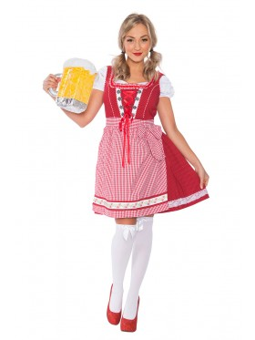 Ladies Oktoberfest Wench Costume