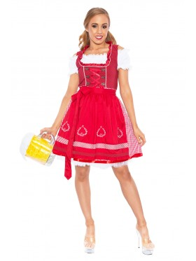 Ladies German Heidi Costume