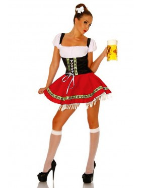 Ladies German Heidi Oktoberfest costume