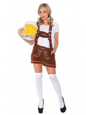 Ladies German Bavarian Heidi Costume