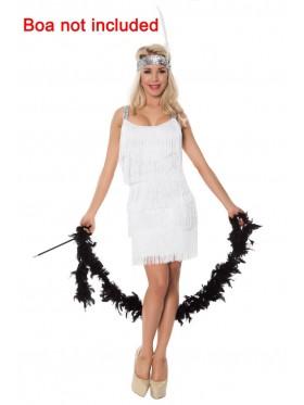 White Ladies 20s 1920s Charleston Flapper Costume