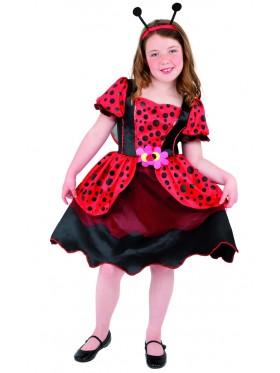 Little LadyBug Costume Animal Jumpsuit Boys Girls Kids Fancy Dress Book Week