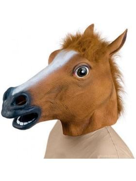 horse Head Latex Mask Animal