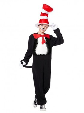 Kids Dr Seuss Cat In The Hat Costume