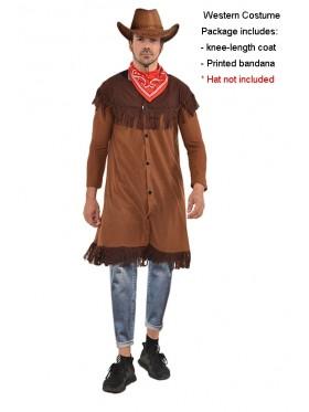 Mens Wild Western Cowboy Costume