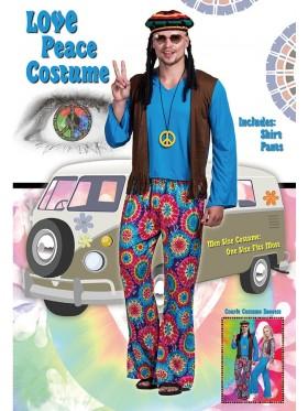 70s Hippy Costume Mens