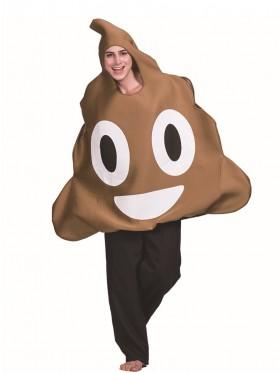 Poo Emoji Unisex Costume
