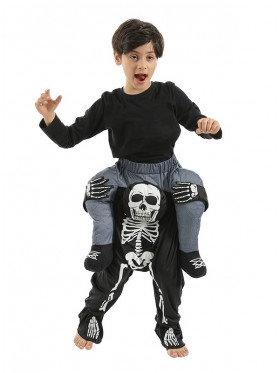 Child Skeleton Ride On Me Costume