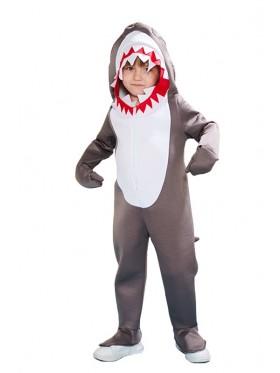 Child Shark Costume Bodysuit