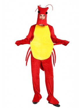 Adult Lobster Shrimp Costume