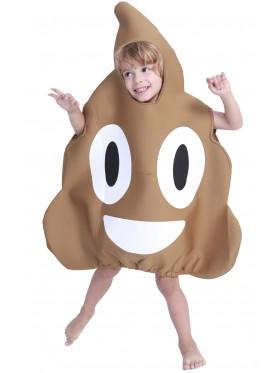 Kids Poo Emoji Fun Costume