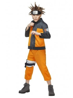 Boys Uzumaki Naruto Costume