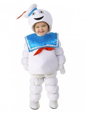 Toddler Kids Ghostbusters Puft Marshmallow costume
